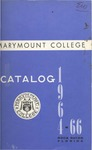 1964-1966 & 1967-1968 Marymount College Catalogs by Marymount College