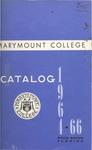 1964-1966 & 1967-1968 Marymount College Catalogs