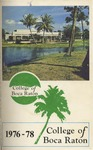 1976-1978 & 1978-1979 College of Boca Raton Catalogs by College of Boca Raton