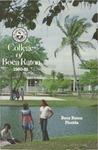 1980-1981 College of Boca Raton Catalog