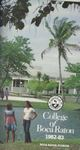 1982-1983 College of Boca Raton Catalog by College of Boca Raton