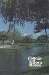 1986-1987 College of Boca Raton Catalog by College of Boca Raton
