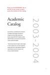 2003-2004 Lynn University Academic Catalog