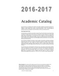 2016-2017 Lynn University Academic Catalog by Lynn University