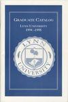 1994-1995 Lynn University Graduate Catalog