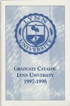 1997-1998 Lynn University Graduate Catalog by Lynn University