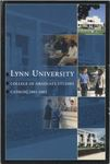 2001-2002 Lynn University Graduate Catalog by Lynn University