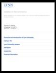 2019-2020 Lynn University Academic Catalog