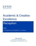 2020 Academic & Creative Excellence Reception Program by Lynn University
