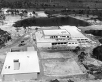Founders Hall Construction Aerial by Marymount College