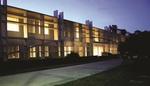 Ronald and Kathleen Assaf Academic Center Evening by Lynn University