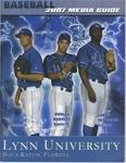 2007 Men's Baseball Media Guide