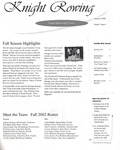 2002 Knight Rowing Media Guide
