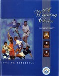 1995-96 Athletics Media Guide: A Winning Choice
