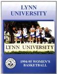 1994-95 Women's Basketball Media Guide