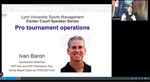 2020-2021 Center Court Speaker Series: Pro Tournament Operations by Lynn University