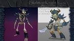 Skeleton Knight - Game Art Portfolio 2