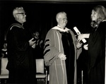 1971 Marymount Commencement: Jemette Sarson receives degree by Marymount College