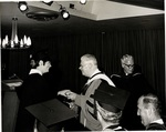1971 Marymount Commencement: Milton Lewis awards degree by Marymount College