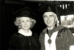 1981 CBR Commencement: Don Ross and Marylou Whitney by College of Boca Raton