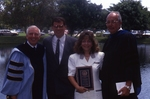 [1992] Ross and Hannifan present Distinguished Alumni Award to Joseph and Mary Veccia by Lynn University