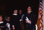 [1992] Dina Bickel presents the Medina McMenimen Bickel Fashion Award to Candace Lea Sargent by Lynn University