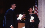 [1992] J. Murfree Butler presents the James J. Oussani Award to Gregory Dustin Reichman by Lynn University