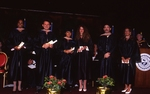 [1992] Bachelor Degree Award recipients on stage by Lynn University