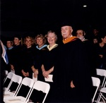 [1998] Faculty and staff during commencement by Lynn University