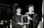 1991 CBR Commencement: Gregg Cox Outstanding Teacher Award by College of Boca Raton