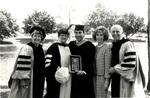 1991 CBR Commencement: Rosses Malfitanos Doberstein Outstanding Alumnus Award by College of Boca Raton