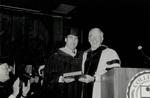 1991 CBR Commencement: Don Ross Greg Malfitano Outstanding Alumnus Award by College of Boca Raton