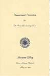 1965 Marymount College Commencement