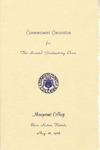 1966 Marymount College Commencement