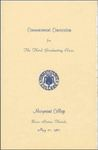 1967 Marymount College Commencement