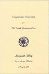 1968 Marymount College Commencement