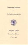 1969 Marymount College Commencement by Marymount College
