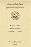 1975 College of Boca Raton Commencement