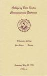 1976 College of Boca Raton Commencement by College of Boca Raton