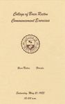 1981 College of Boca Raton Commencement