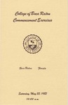 1982 College of Boca Raton Commencement