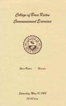 1984 College of Boca Raton Commencement by College of Boca Raton