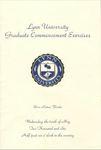 2006 Lynn University Commencement Program - Graduate Students and Undergraduate Evening Students