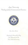 2006 Lynn University Commencement Program - Undergraduate Day Students by Lynn University