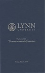 2010 Lynn University Commencement Program - Graduate Students and Undergraduate Evening Students by Lynn University