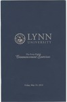 2013 Lynn University Commencement Program Graduate Students and Undergraduate Evening Students by Lynn University