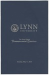 2013 Lynn University Commencement