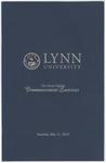 2013 Lynn University Commencement Program - Undergraduate Day Students