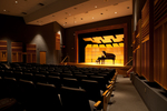Amarnick Goldstein Concert Hall Stage with Piano by Lynn University