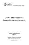 2011-2012 Dean's Showcase No. 2